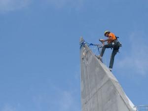 Trabajos verticales urbanos en Torre Lugano